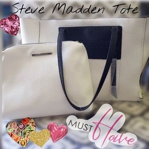 Like New Steven Madden Mecca 2 in 1 Tote